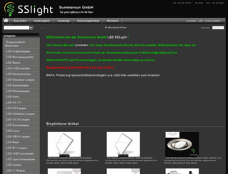 sslight.de screenshot