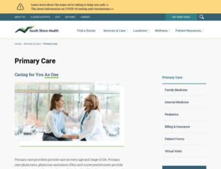 ssmedcenter.com screenshot