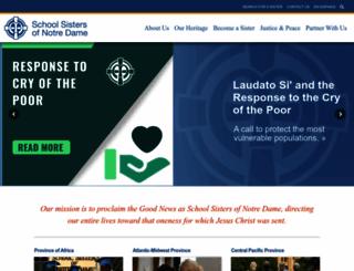 ssnd.org screenshot