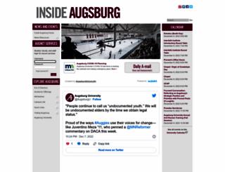 sso.augsburg.edu screenshot