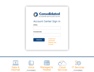 sso.consolidated.com screenshot