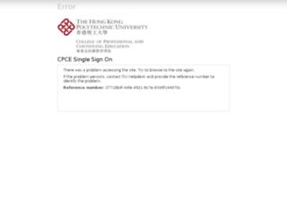 ssoportal.cpce-polyu.edu.hk screenshot