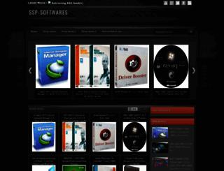 ssp-softwares.blogspot.com screenshot