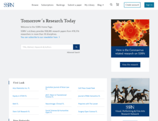 ssrn.com screenshot