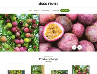 sssfruits.com screenshot