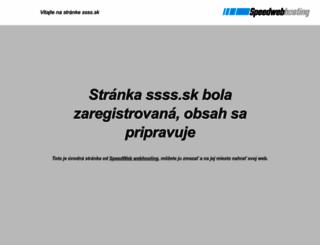 ssss.sk screenshot