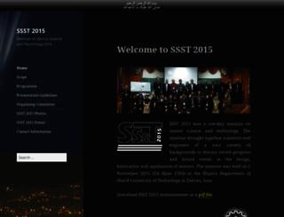 ssst2015.sharif.edu screenshot