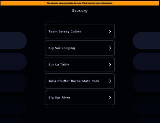 ssur.org screenshot
