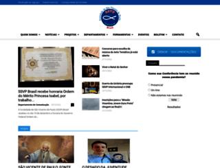 ssvpbrasil.org.br screenshot