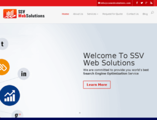 ssvwebsolutions.com screenshot