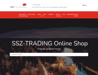 ssz-trading.ch screenshot