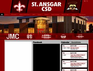 st-ansgar.k12.ia.us screenshot