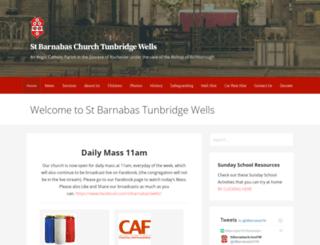 st-barnabas.info screenshot