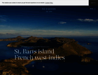 st-barths.com screenshot