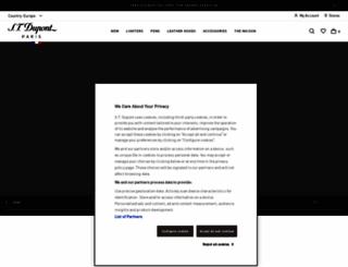 st-dupont.com screenshot