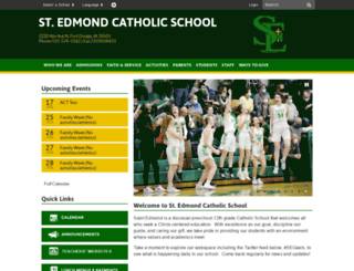 st-edmond.com screenshot