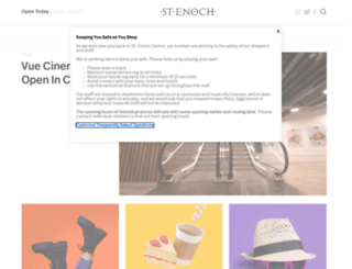 st-enoch.co.uk screenshot