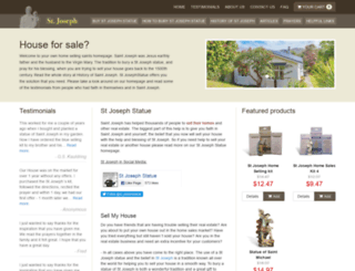 st-josephstatue.com screenshot