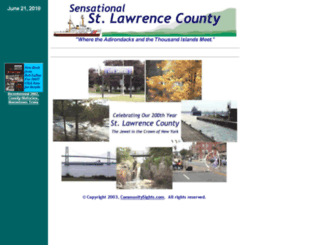 st-lawrence.ny.us screenshot
