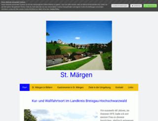 st-maergen.jimdo.com screenshot
