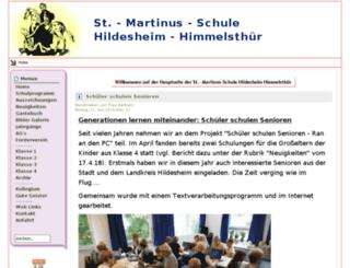 st-martinus-schule-hi.nibis.de screenshot