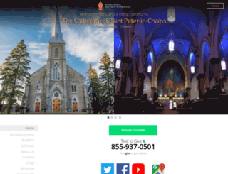st-peter-in-chains.ca screenshot