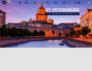 st-petersburg-reisen.de screenshot