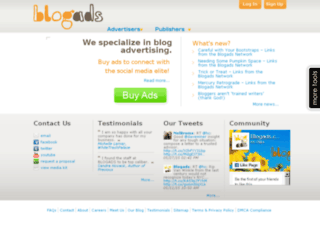 st.blogads.com screenshot