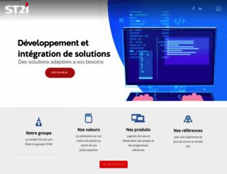 st2i.com.tn screenshot