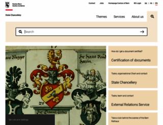 sta.be.ch screenshot