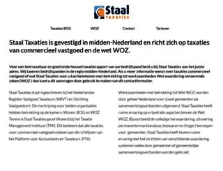 staaltaxaties.nl screenshot