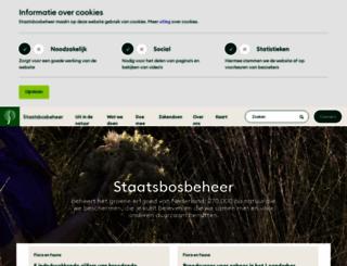 staatsbosbeheer.nl screenshot