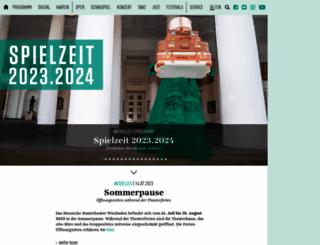staatstheater-wiesbaden.de screenshot