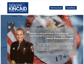 staceykincaid.com screenshot