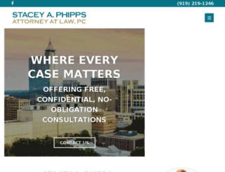staceyphipps.com screenshot