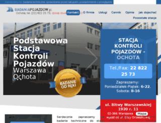 stacjakontroli-ochota.pl screenshot