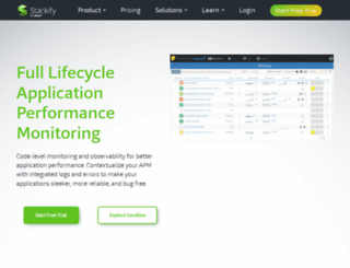 stackify.com screenshot