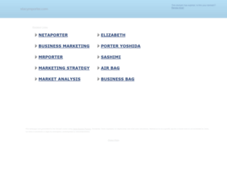 stacymporter.com screenshot