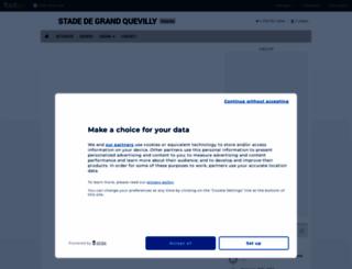 stade-gdquevilly.footeo.com screenshot