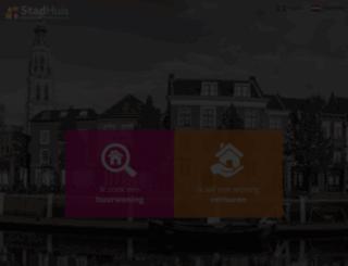 stadhuis.nl screenshot