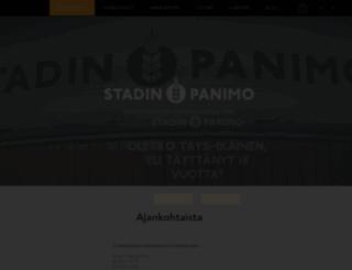 stadinpanimo.fi screenshot