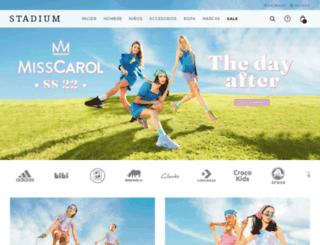 stadium.com.uy screenshot
