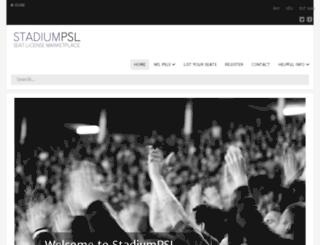 stadiumpsl.com screenshot
