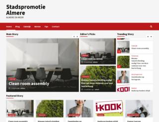 stadspromotie-almere.nl screenshot