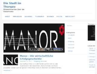 stadt-frauenfeld.ch screenshot