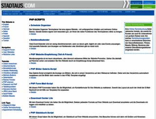 stadtaus.com screenshot