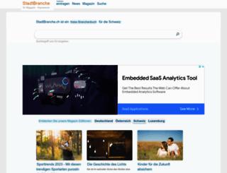stadtbranche.ch screenshot