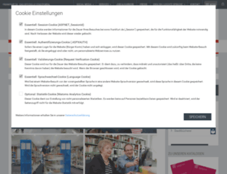 stadtbuecherei.frankfurt.de screenshot
