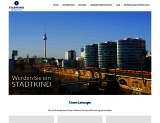stadtkind.de screenshot