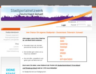 stadtportalnetzwerk.de screenshot